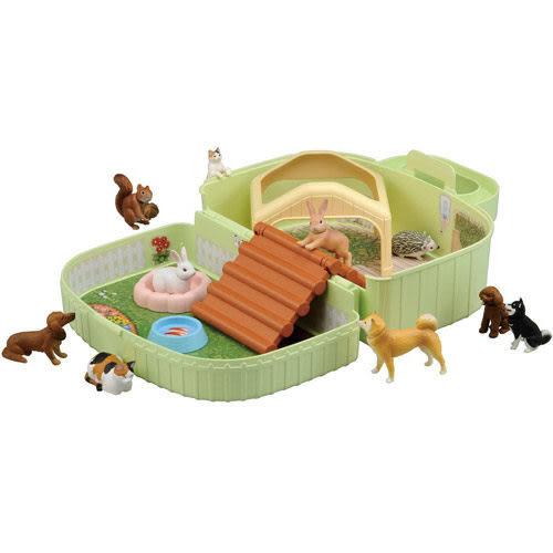 多美動物園 帶著走 兔子組 (收納提盒組)
