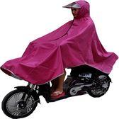 電動車自行車單人雨披雨衣成人電瓶車男女士加厚加大透明帽檐