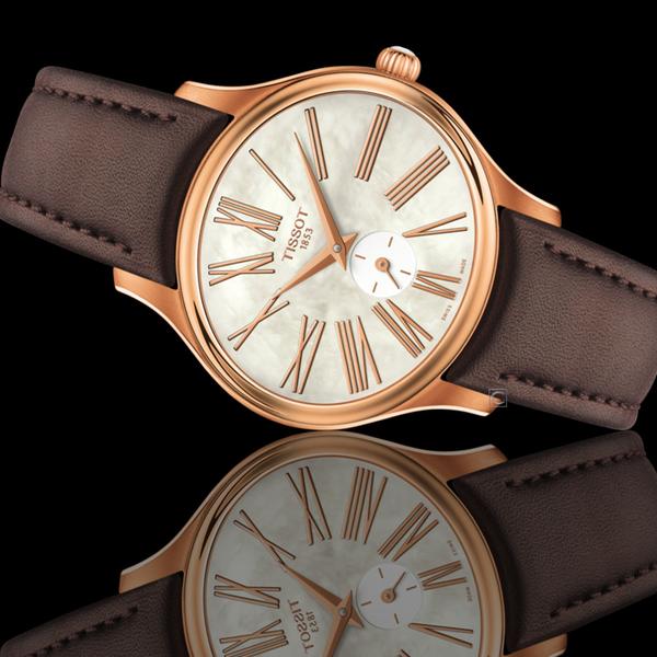 TISSOT天梭Bella Ora優雅氣息時尚腕錶 T1033103611300