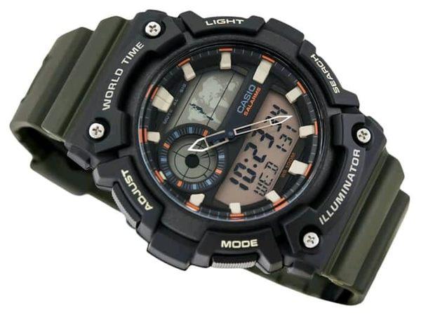 【CASIO宏崑時計】CASIO卡西歐復古電子錶 AEQ-200W-3A 生活防水  台灣卡西歐保固一年
