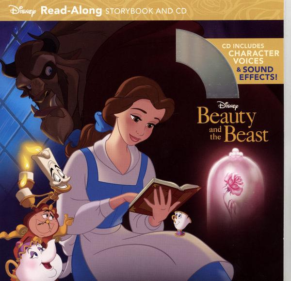 【麥克書店】BEAUTY AND THE BEAST (美女與野獸)‧聽迪士尼說故事