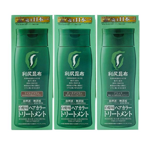 日本Sastty 白髮專用日本利尻昆布染髮劑 200g【優.日常】