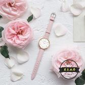 女士防水時尚款石英錶休閒可愛手錶女學生韓版簡約潮流  ~黑色地帶