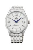[Y21潮流精品] 新款!ORIENT 東方錶 CLASSIC系列 鋼帶款 白色 - 43mm SAC04003W