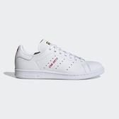 J-adidas Stan Smith 白紅 女鞋 運動鞋 情人節 愛心 休閒鞋 白紅金 FV8260