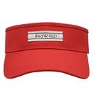 【ISW】多色運動空頂帽-紅色 (六色可選) 網球帽