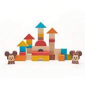 Disney KIDEA 迪士尼益智平衡積木 組合小木塊 米奇與好朋友們積木組