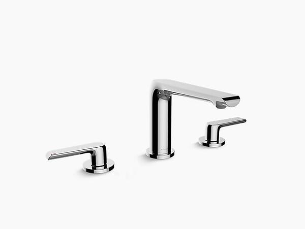 【麗室衛浴】美國 KOHLER Avid™ 缸邊式浴缸龍頭 K-97363T-4-TT