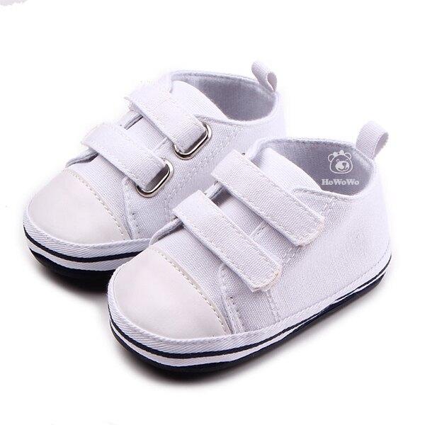 超低折扣NG商品~魔鬼氈百搭寶寶學步鞋 4色經典款嬰兒鞋 (11-14cm) MIY0644 好娃娃童鞋