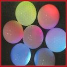 高爾夫GOLF七彩閃光球 彩色變色發光球 (6顆盒裝)【AE10542-6】99愛買小舖