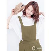 CANTWOV領腰束口雪紡上衣(共三色)~春夏新品登場