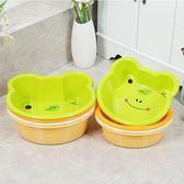 寶寶嬰幼兒童洗面盆卡通動物小面盆