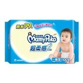 滿意寶寶 純水 超柔感 濕毛巾 一般型 100張/包【康鄰超市】