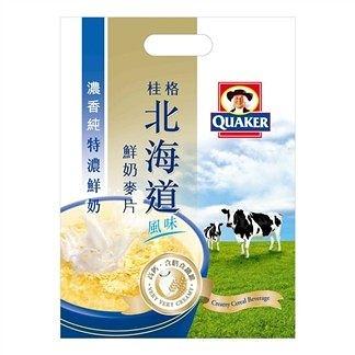 桂格北海道鮮奶麥片-特濃鮮奶12入 [仁仁保健藥妝]