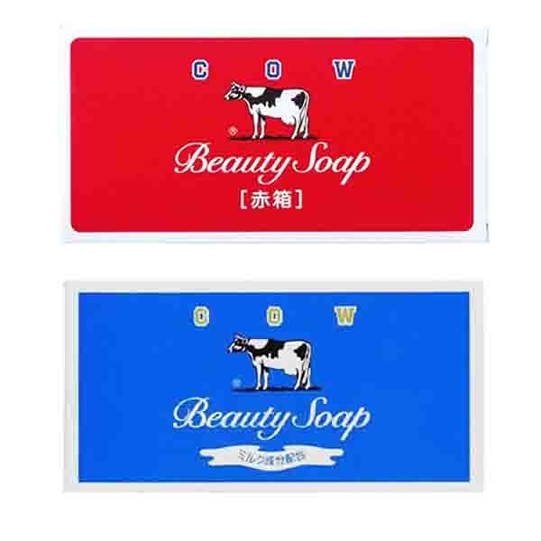 日本牛乳石鹼 牛乳香皂3入裝 玫瑰滋潤型/茉莉清爽型