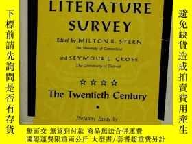 二手書博民逛書店二十世紀美國文學研究罕見American Literature