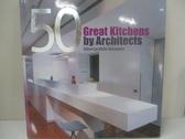 【書寶二手書T1/建築_DOU】50 Great Kitchens by Architects_Hasanovic, Aisha (EDT)