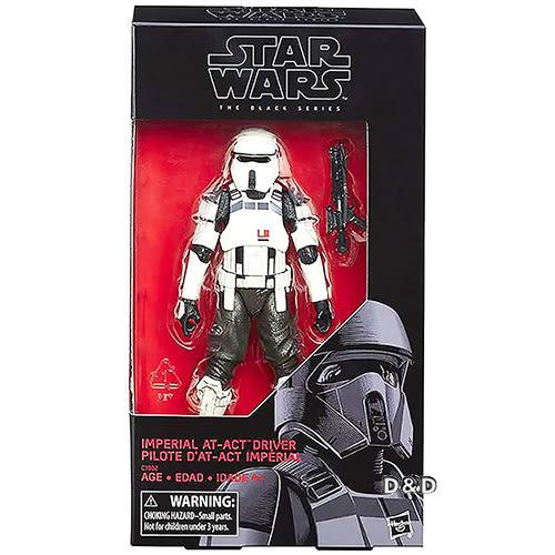 《 STAR WARS 星際大戰 》星際大戰黑標 - 6吋人物組 - 帝國駕駛兵 ╭★ JOYBUS玩具百貨