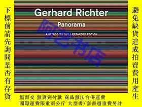 二手書博民逛書店Gerhard罕見Richter: Panorama: A Re