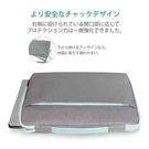 【日本代購】Inateck 電腦套lb1x04  灰藍 13-13.3 吋