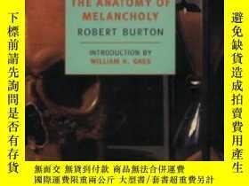 二手書博民逛書店The罕見Anatomy Of MelancholyY307751 Robert Burton New Yor