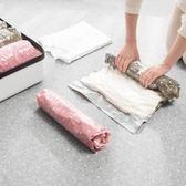 聖誕節交換禮物-旅行收納袋手捲壓縮袋防水衣物衣服整理真空羽絨服收納神器省空間
