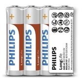 [富廉網]【PHILIPS】飛利浦 碳鋅4號電池 4顆入*10組 (熱縮)