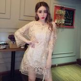 洋裝 韓版 蕾絲小禮服