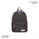 【OUTDOOR】(促銷價) 玩色系列-後背包-黑/紫色 OD101128BKL