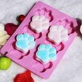 皂模 六孔貓爪皂模 果凍模 蛋糕模 想購了超級小物