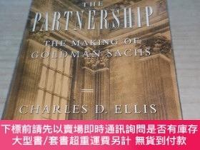 二手書博民逛書店The罕見Partnership:The Making of Goldman Sachs 合夥人Y211464