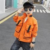 男童外套 童裝男童秋裝外套新款洋氣中大兒童春秋上衣韓版帥氣夾克 檸檬衣舍