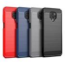 紅米 Note 9 Pro 4G 軟殼 保護殼 TPU 按鍵全包式 手機殼 背蓋 拉絲碳纖維紋 手機套 外殼