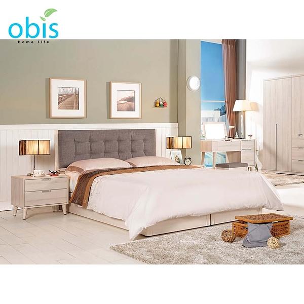 OB003-愛莎6尺雙人床(19CM/535-1)【DD House】