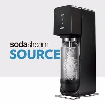 英國SodaStream-電動式氣泡水機Power source旗艦機(黑)