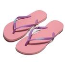 HAVAIANAS 哈瓦仕 WMNS 人字拖 SLIM LOGO POP UP 紫紅色 拖鞋 女 (布魯克林) 41197875217W