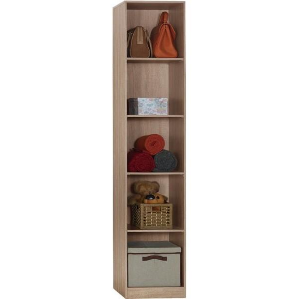 衣櫃 衣櫥 SB-536-3 凱文1.3尺淺灰橡開放隔板衣櫃【大眾家居舘】
