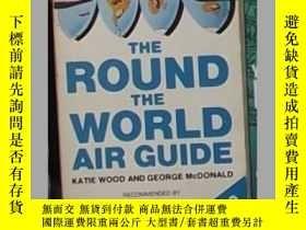 二手書博民逛書店英文原版罕見The Round the World Air Gu