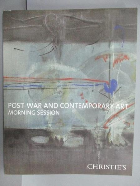【書寶二手書T9/收藏_FOZ】Christie s_Post-War and…Session_2012/11/15