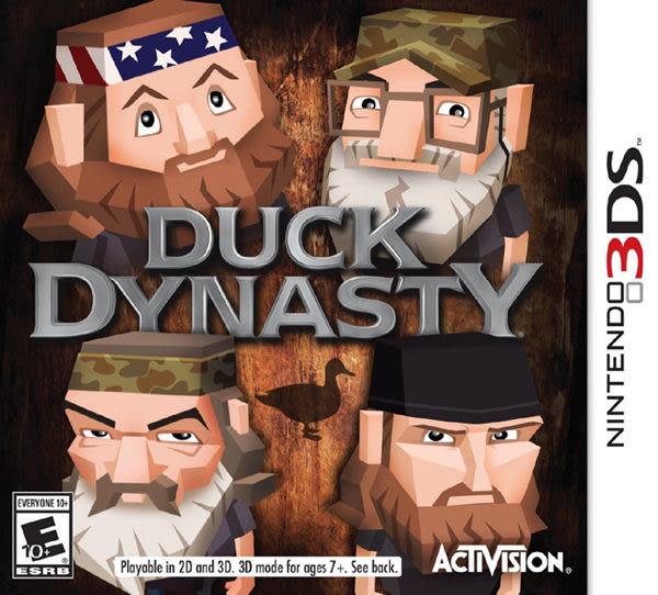 3DS Duck Dynasty 鴨子王朝(美版代購)