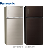 Panasonic 國際牌【NR-B581TG】 579公升變頻雙門玻璃冰箱
