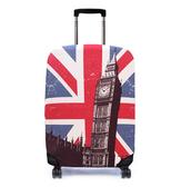 Bibelib 行李箱保護套 英國大笨鐘-英國國旗 indulgence 寵愛自己