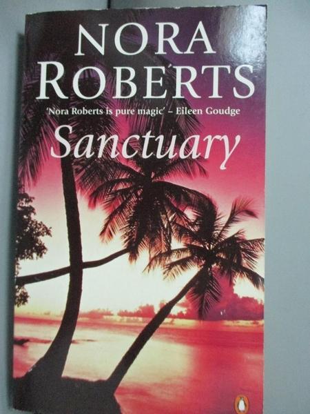 【書寶二手書T7/原文小說_GSD】Sanctuary_Nora Roberts
