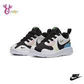 NIKE童鞋 寶寶鞋 男女童運動鞋 慢跑鞋 跑步鞋 球鞋 LUCENT II (TD) Q7023#黑白◆OSOME奧森鞋業