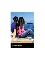 二手書博民逛書店 《Penguin 1 (Beg): Girl Meets Boy》 R2Y ISBN:1405869712│DerekStrange