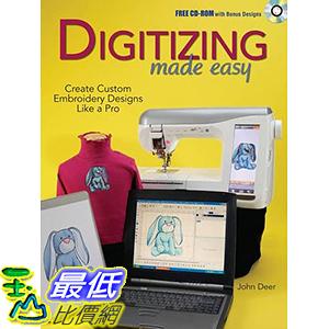 [106美國直購] 2017美國暢銷軟體 Digitizing Made Easy: Create Custom Embroidery Designs Like a Pro