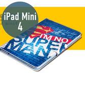 Apple iPad mini 4 車線 彩繪卡通 側翻皮套 支架 平板套 平板 皮套 平板殼 保護套 保護皮套