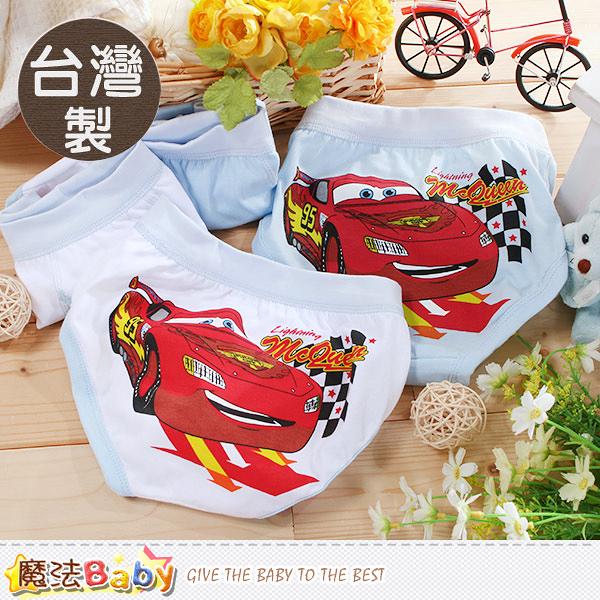 男童內褲(四件一組) 台灣製閃電麥坤正版純棉三角內褲 魔法Baby