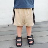 嬰兒運動短褲三條杠夏裝夏季兒童男童寶寶童裝小童休閒洋氣潮1579 童趣屋