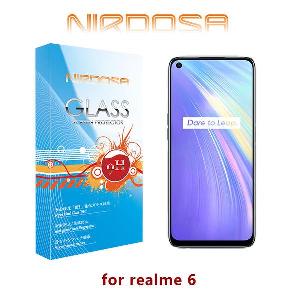 【愛瘋潮】NIRDOSA realme 6 9H 0.26mm 玻璃螢幕保護貼